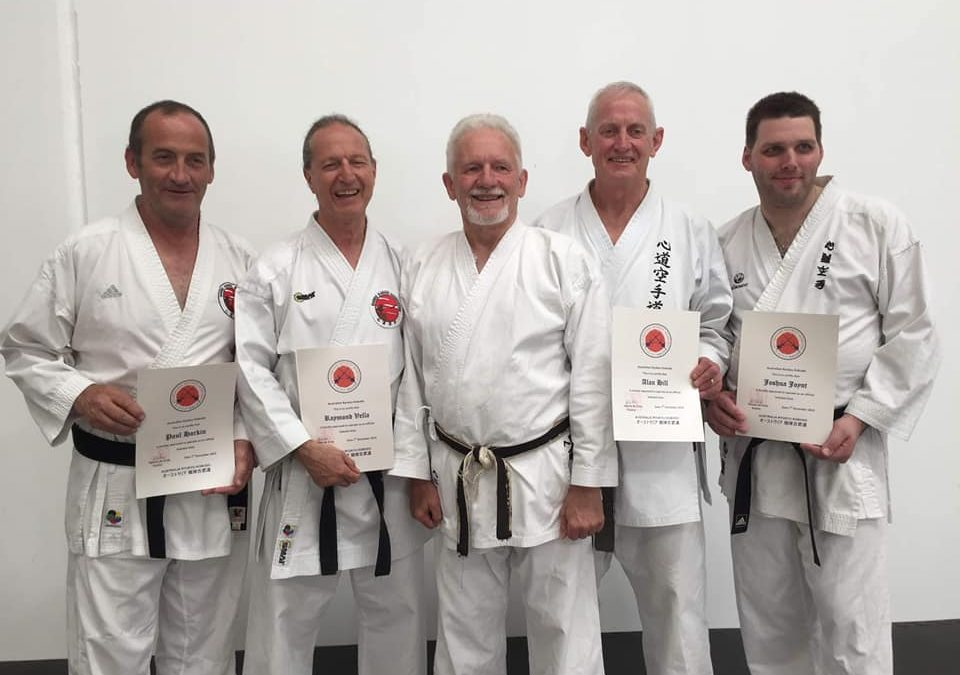 4 NEW KOBUDO INSTRUCTORS